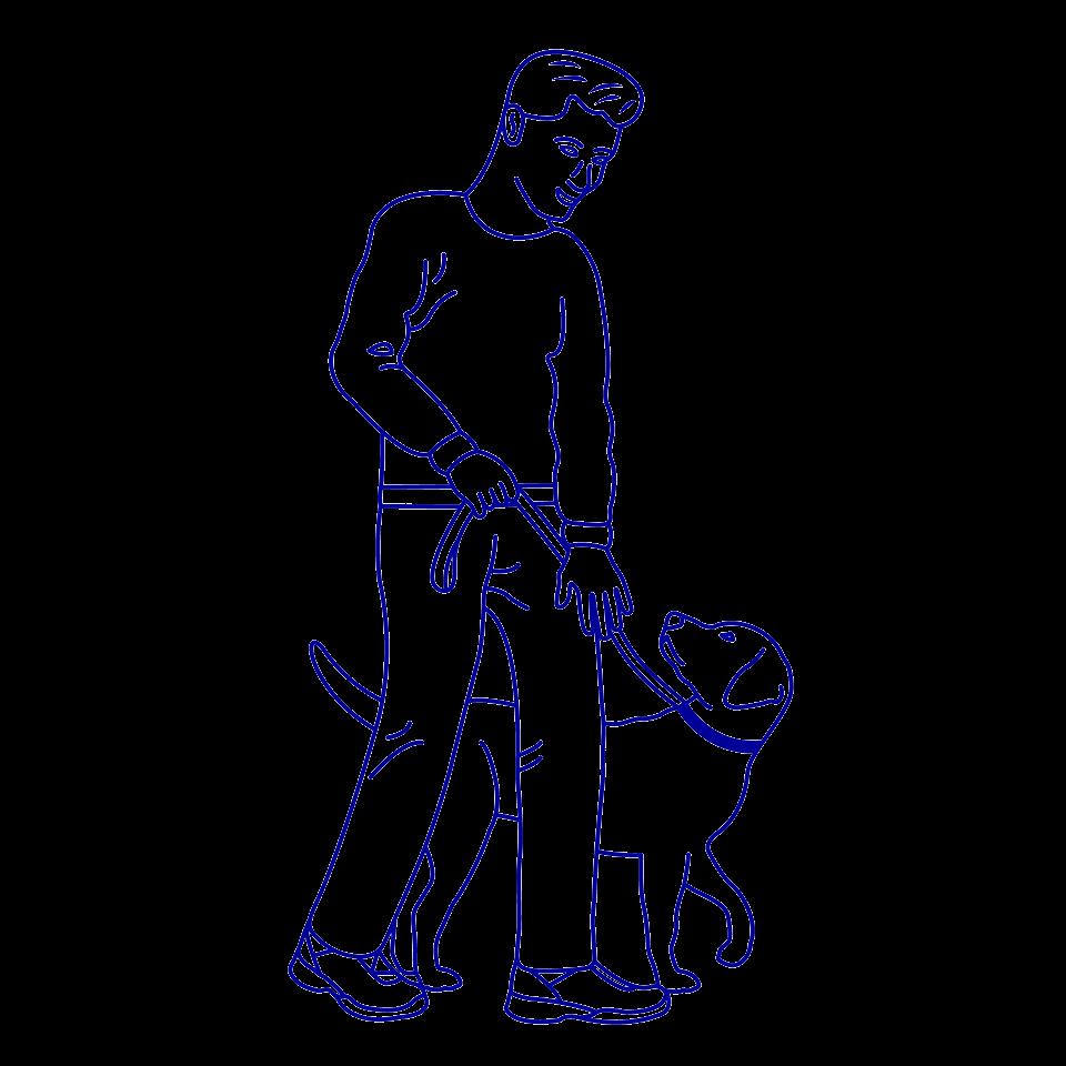 Hond en Meester